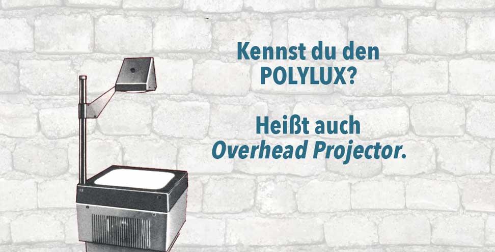 Polylux Overheadfolie