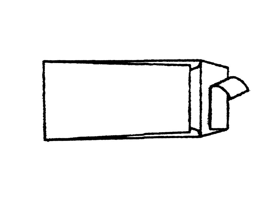 DL 22 x 11 cm